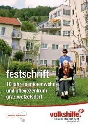 festschrift – - Volkshilfe Steiermark