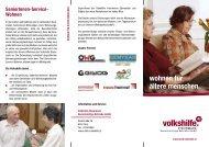 Informationsfolder - Volkshilfe Steiermark