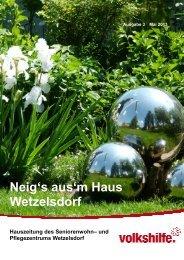 Hauszeitung Ausgabe 3 - Meinpflegeplatz.at