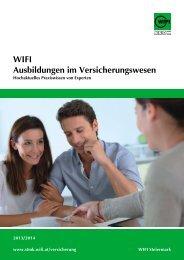 Versicherungswesen 1314.cdr - WIFI Steiermark