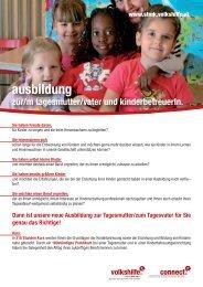 ausbildung - Volkshilfe Steiermark