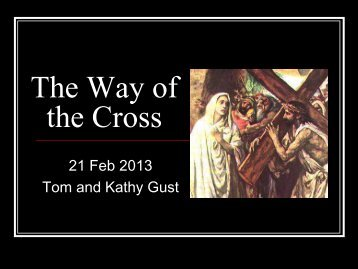 The Way of the Cross - St. Thomas More