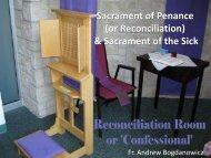16. C5, C6, L3 Sacrament of Penance & sick.pdf - St. Thomas More