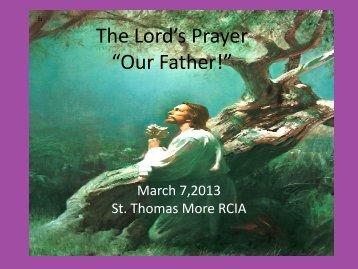 Lord's Prayer-MaryAnne M-2013.pdf