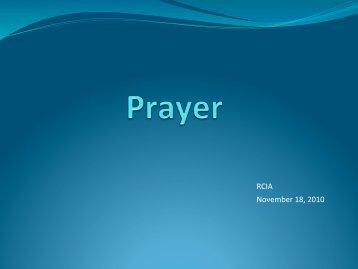 8. Q10 - Catholics & Prayer.pdf - St. Thomas More