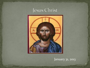 17. C10-Who is Jesus Christ-Marcella2013.pdf - St. Thomas More