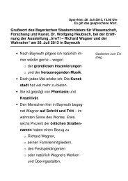 Irre?! – Richard Wagner und der Wahnsinn - Bayerisches ...