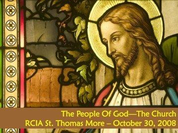 9d. Q12-C9 Catholics Church -Gust Oct 30 2008.pdf - St. Thomas More
