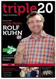 triple20 - Magazin für Dartkultur