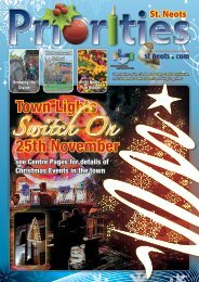 Town Lights 25th November - St Neots Town Council