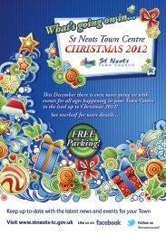 There's something for everybody this Christmas! - St Neots Town ...
