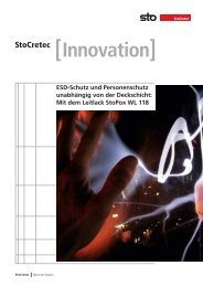 Onlineansicht (pdf) - Sto AG
