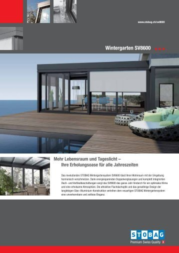 Wintergarten SV8600 - Stobag