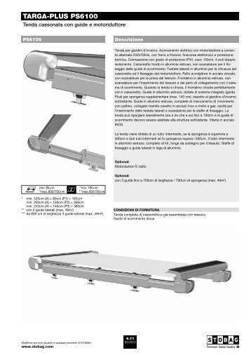 targa-PLUS PS6100 - Stobag