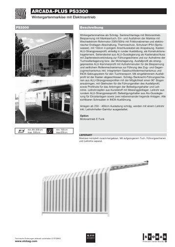 arcada-plus ps3300 - Stobag