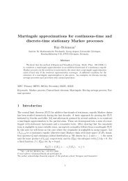 Martingale approximations for continuous-time and discrete-time ...