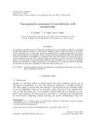 early view.pdf - Institut für Mathematische Stochastik