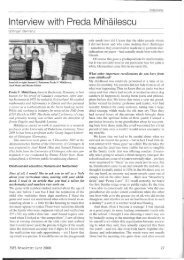 Interview with Preda Mihailescu - Institut für Mathematische Stochastik