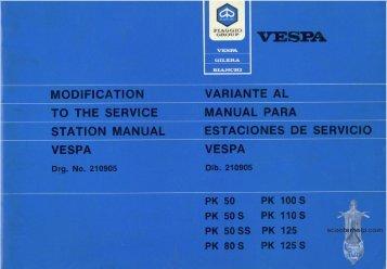 vespa manual pdf