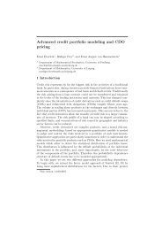 Advanced credit portfolio modeling and CDO pricing - CiteSeerX