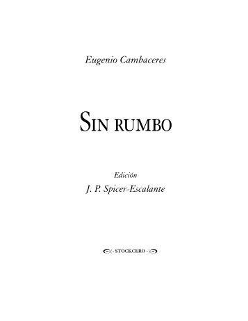 Descargar Sin Rumbo Eugenio Cambaceres Pdf