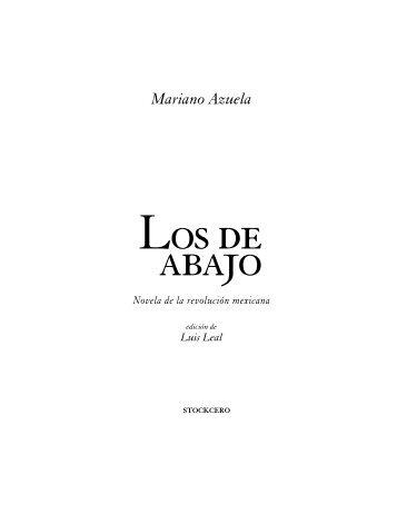 Mariano Azuela - Stockcero