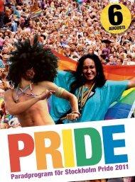 Årets paradprogram - Stockholm Pride