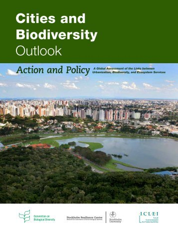 Cities and Biodiversity Outlook (CBO) - African Centre for Cities