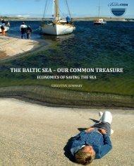 Baltic Sea - Our Common Treasure. Economics of saving the sea ...