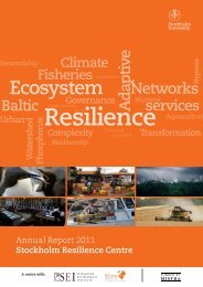 Download screen-friendly version - Stockholm Resilience Centre