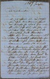 Brev signerat Amanda till K. F. Werner julafton 1867