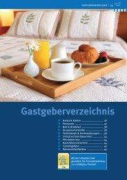 Gastgeberverzeichnis - Dülmen Marketing
