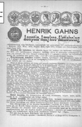 HENRIK GAHNS Assptin· Amykos· Aktisbolag
