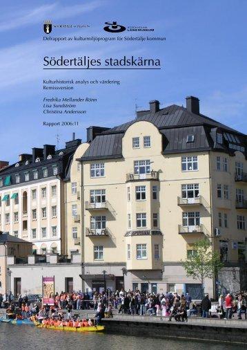 Södertäljes stadskärna - Stockholms läns museum