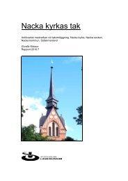 Nacka kyrkas tak - Stockholms läns museum
