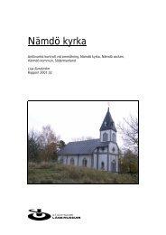 Nämdö kyrka - Stockholms läns museum