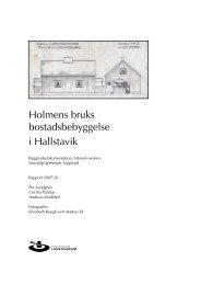 Holmens bruks bostadsbebyggelse i Hallstavik - Stockholms läns ...
