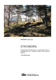 StavSborg - Stockholms läns museum