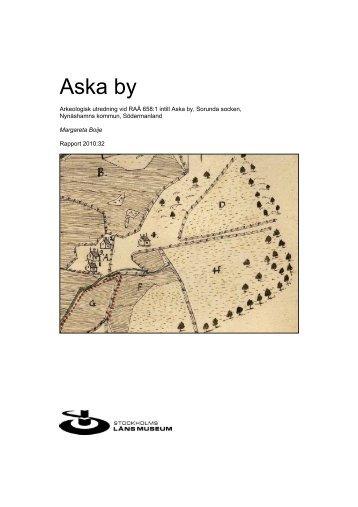 Aska by - Stockholms läns museum