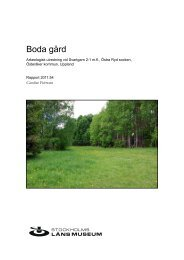 Boda gård - Stockholms läns museum