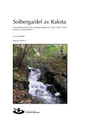 Solberga/del av Raksta - Stockholms läns museum
