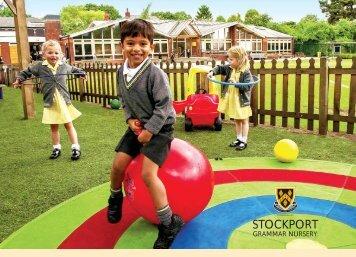 Download the Nursery prospectus (pdf) - Stockport Grammar School