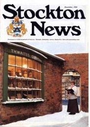First Stockton News - Adobe PDF - Stockton-on-Tees Borough Council