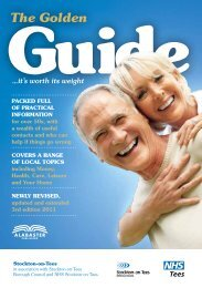 Download a copy of the Golden Guide here - Stockton-on-Tees ...