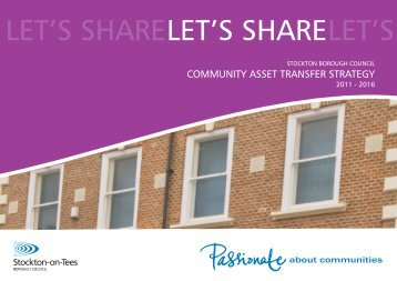 Let's Share Asset Transfer Strategy update - Stockton-on-Tees ...