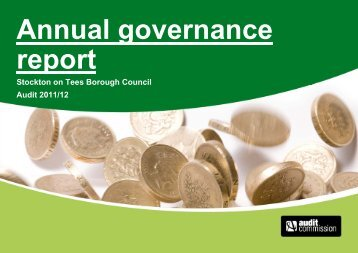 Annual governance report - Stockton-on-Tees Borough Council