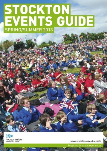 Check out the Stockton Events Guide Spring/Summer 2013