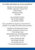 Services for People - Stockton-on-Tees Borough Council - Page 4