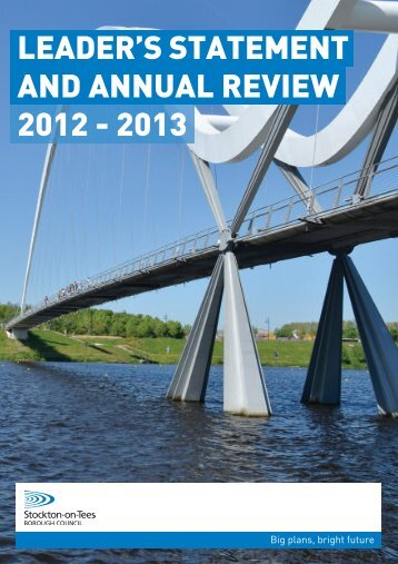 View Stockton Council Annual Review 2012- 2013 - Stockton-on ...