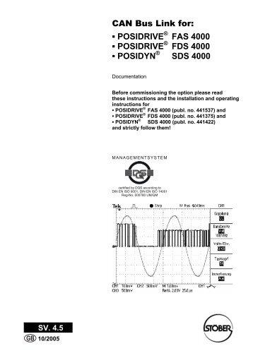Posidrive fds 4000 manual